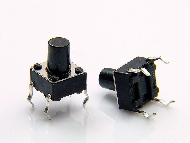 Tact Switch TS06-080 6x6mm h=8mm Pbf