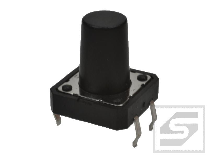 Tact Switch TS12-130 12x12mm;4 piny h=13mm KAN1211-1301B TACTRONIC;Pbf