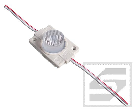 Moduł LED 2W 160lm b.ciep3000K IP65 1xSMD3030;12VDC;0.167A;MD451S-WW