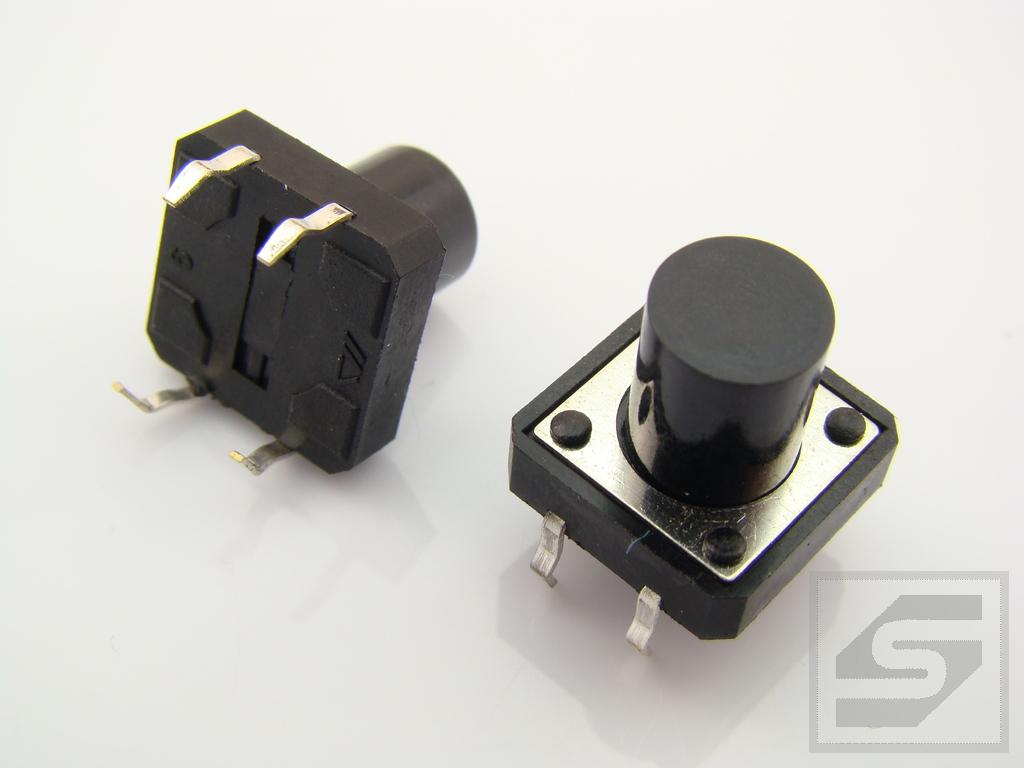 Tact Switch TS12-110 12x12mm;4 piny h=11mm KFC-A12-H11 KFC Pbf