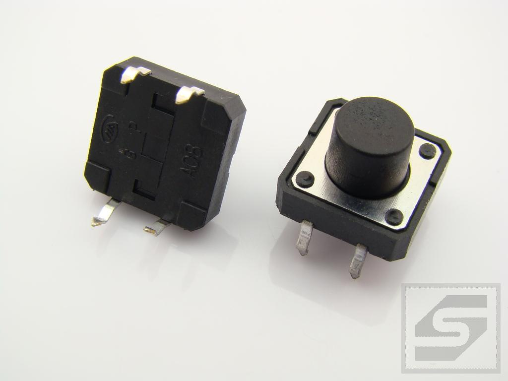 Tact Switch TS12-085 12x12mm;4 piny h=8.5mm KAN1211-851C TACTRONIC Pbf