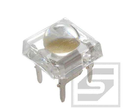 Dioda LED Super Flux 5mm zielona VF=3.2-3.4V Pbf 3839
