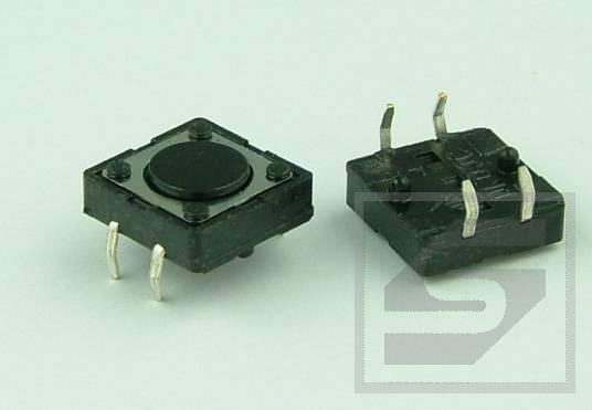 Tact Switch TS12-043 12x12mm;4 piny h=4.3mm KFC-A12-H4.3 KFC RoHS