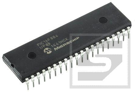 PIC16F884-I/P 20MHz Mikrokontroler DIP40;Microchip;RoHS