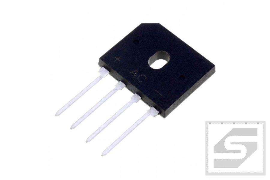 Mostek GBU6G (6A/400V) płaski General Semiconductor