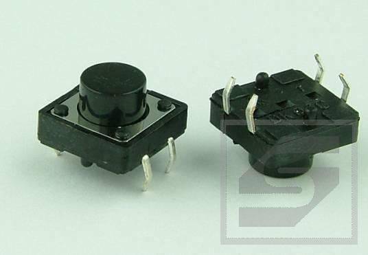 Tact Switch TS12-075 12x12mm;4 piny h=7.5mm KFC-A12-H7.5 KFC Pbf