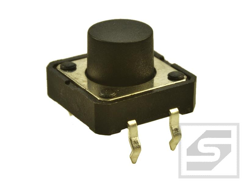 Tact Switch TS12-080 12x12mm;4 piny h=8.0mm KAN1211-0801B TACTRONIC;Pbf