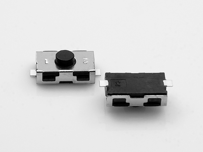 Tact Switch KSR221G SMD 2 piny OFF-(ON) C&K 3.8x6mm